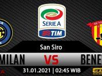 Prediksi Bola Inter Milan vs Benevento 31 Januari 2021