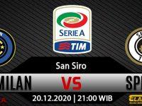 Prediksi Bola Inter Milan vs Spezia 20 Desember 2020