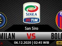 Prediksi Bola Inter Milan Vs Bologna 6 Desember 2020
