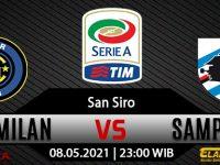 Prediksi Bola Inter Milan vs Sampdoria 08 mei 2021