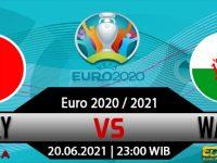 Prediksi Bola Italia vs Wales 20 Juni 2021