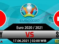 Prediksi Bola Italia vs Swiss 17 Juni 2021