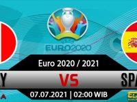 Prediksi Bola Italia Vs Spanyol 07 Juli 2021