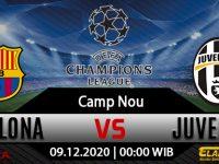 Prediksi Bola Barcelona vs Juventus 09 Desember 2020