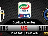 Prediksi Bola Juventus vs Inter Milan Italia 15 Mei 2021