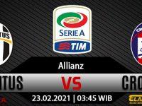 Prediksi Bola Juventus Vs Crotone 23 Februari 2021