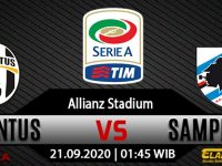 Prediksi Bola Juventus Vs Sampdoria 21 September 2020