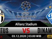 Prediksi Bola Juventus vs Dynamo Kyiv 03 Desember 2020