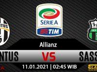 Prediksi Bola Juventus vs Sassuolo 11 Januari 2021