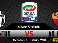Prediksi Bola Juventus Vs AS Roma 07 Februari 2021