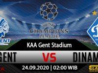Prediksi Bola Gent vs Dynamo Kyiv 23 September 2020