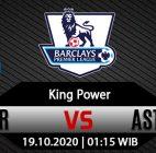 Prediksi Bola Leicester City vs Aston Villa 18 Oktober 2020