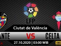 Prediksi Bola Levante vs Celta Vigo 27 Oktober 2020
