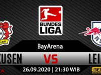 Prediksi Bola Bayer Leverkusen Vs RB Leipzig 26 September 2020