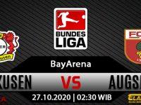 Prediksi Bola Bayer Leverkusen vs Augsburg 27 Oktober 2020