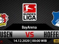 Prediksi Bola Bayer Leverkusen vs Hoffenheim 14 Desember 2020