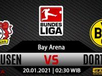 Prediksi Bola Bayer Leverkusen Vs Borussia Dortmund 20 Januari 2021