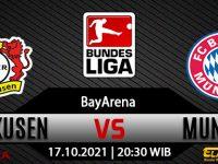 Prediksi Bola Bayer Leverkusen Vs Bayern Munchen 17 Oktober 2021