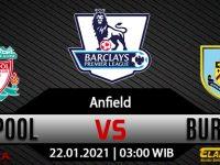 Prediksi Bola Liverpool Vs Burnley 22 Januari 2021