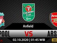 Prediksi Bola Liverpool vs Arsenal 2 Oktober 2020