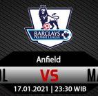 Prediksi Bola Liverpool vs Manchester United 17 Januari 2021