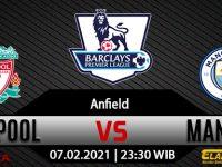 Prediksi Bola Liverpool vs Manchester City 07 Februari 2021