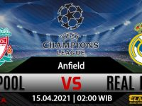 Prediksi Bola Liverpool Vs Real Madrid 15 April 2021