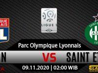 Prediksi Bola Lyon vs Saint Etienne 09 November 2020