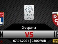 Prediksi Bola Lyon vs Lens 07 Januari 2021
