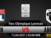 Prediksi Bola Lyon vs Angers 12 April 2021
