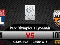 Prediksi Bola Lyon vs Lorient 08 Mei 2021