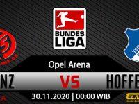 Prediksi Bola Mainz 05 vs Hoffenheim 30 November 2020