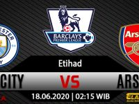 Prediksi Bola Manchester City vs Arsenal 18 Juni 2020