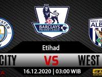 Prediksi Bola Manchester City vs West Brom 16 Desember 2020
