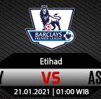 Prediksi Bola Manchester City vs Aston Villa 21 Januari 2021