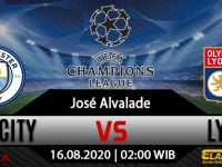 Prediksi Bola Manchester City Vs Lyon 16 Agustus 2020