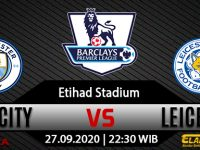 Prediksi Bola Manchester City vs Leicester City 27 September 2020