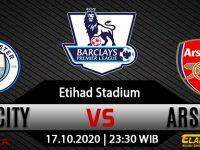 Prediksi Bola Manchester City vs Arsenal 17 Oktober 2020