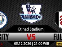 Prediksi Bola Manchester City vs Fulham 5 Desember 2020