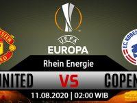 Prediksi Bola Manchester United Vs FC Copenhagen 11 Agustus 2020