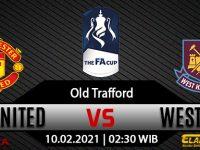 Prediksi Bola Manchester United Vs West Ham 10 Februari 2021