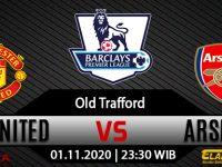 Prediksi Bola Manchester United vs Arsenal 1 November 2020
