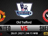 Prediksi Bola Manchester United Vs Sheffield United 28 Januari 2021