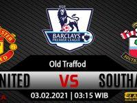 Prediksi Bola Manchester United Vs Southampton 03 Februari 2021