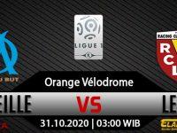 Prediksi Bola Olympique Marseille vs Lens 31 Oktober 2020