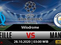 Prediksi Bola Marseille vs Manchester City 28 Oktober 2020