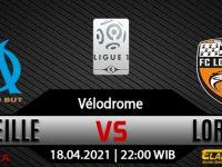Prediksi Bola Marseille vs Lorient 17 April 2021