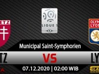 Prediksi Bola Metz Vs Olympique Lyonnais 7 Desember 2020