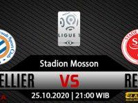 Prediksi Bola Montpellier vs Reims 25 Oktober 2020