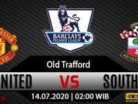 Prediksi Bola Manchester United Vs Southampton 14 Juli 2020
